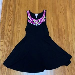 Girls Justice black dress